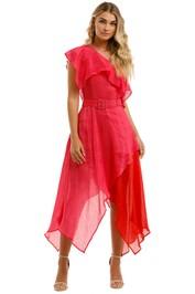 Leo-and-Lin-Passionate-Silk-Linen-Handkerchief-Dress-Pink-Front