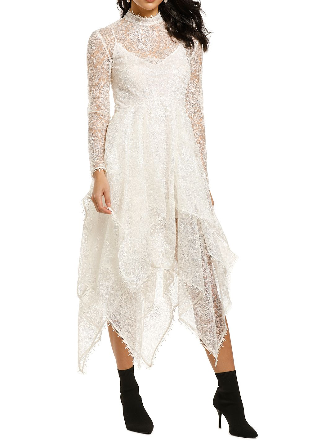 Leo-and-Lin-Serenity-Lace-Handkerchief-Dress-White-Front