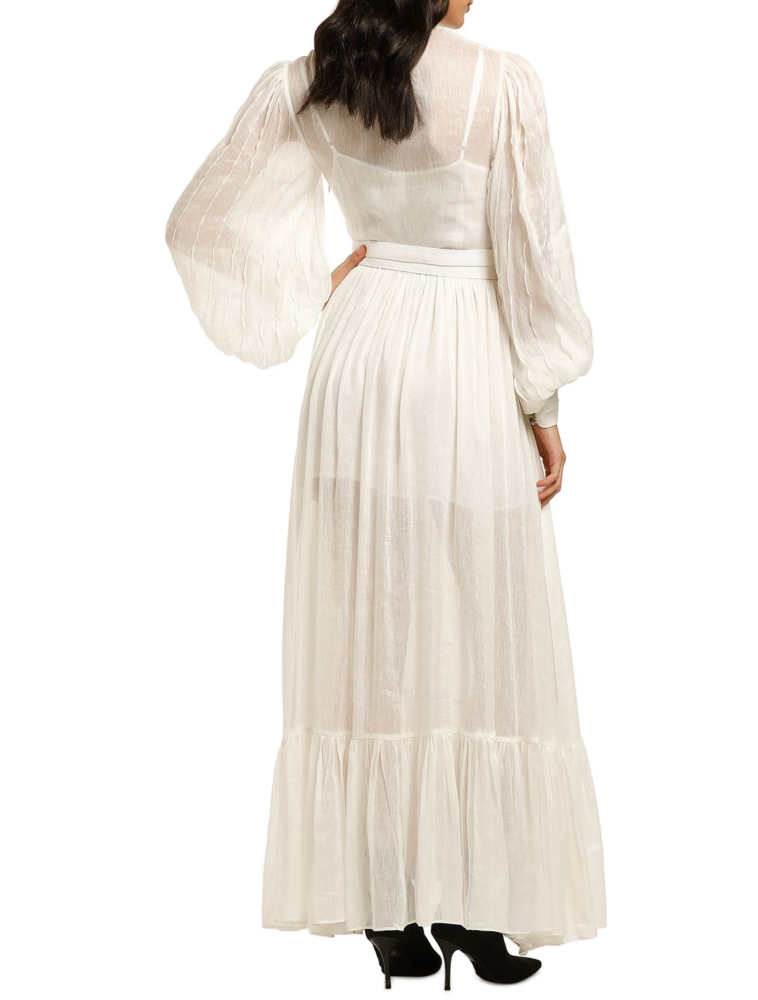 Leo-and-Lin-Serenity-Linen-Dress-White-Back