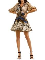 Leo-and-Lin-The-World-Silk-Linen-Mini-Dress-Front
