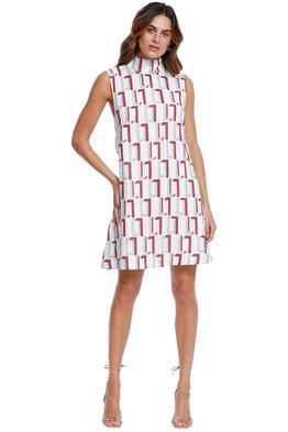 LEO LIN Back Knot Mini Dress