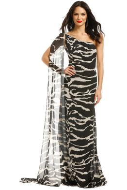 Lexi-Zola-Dress-Black-Ivory-Front
