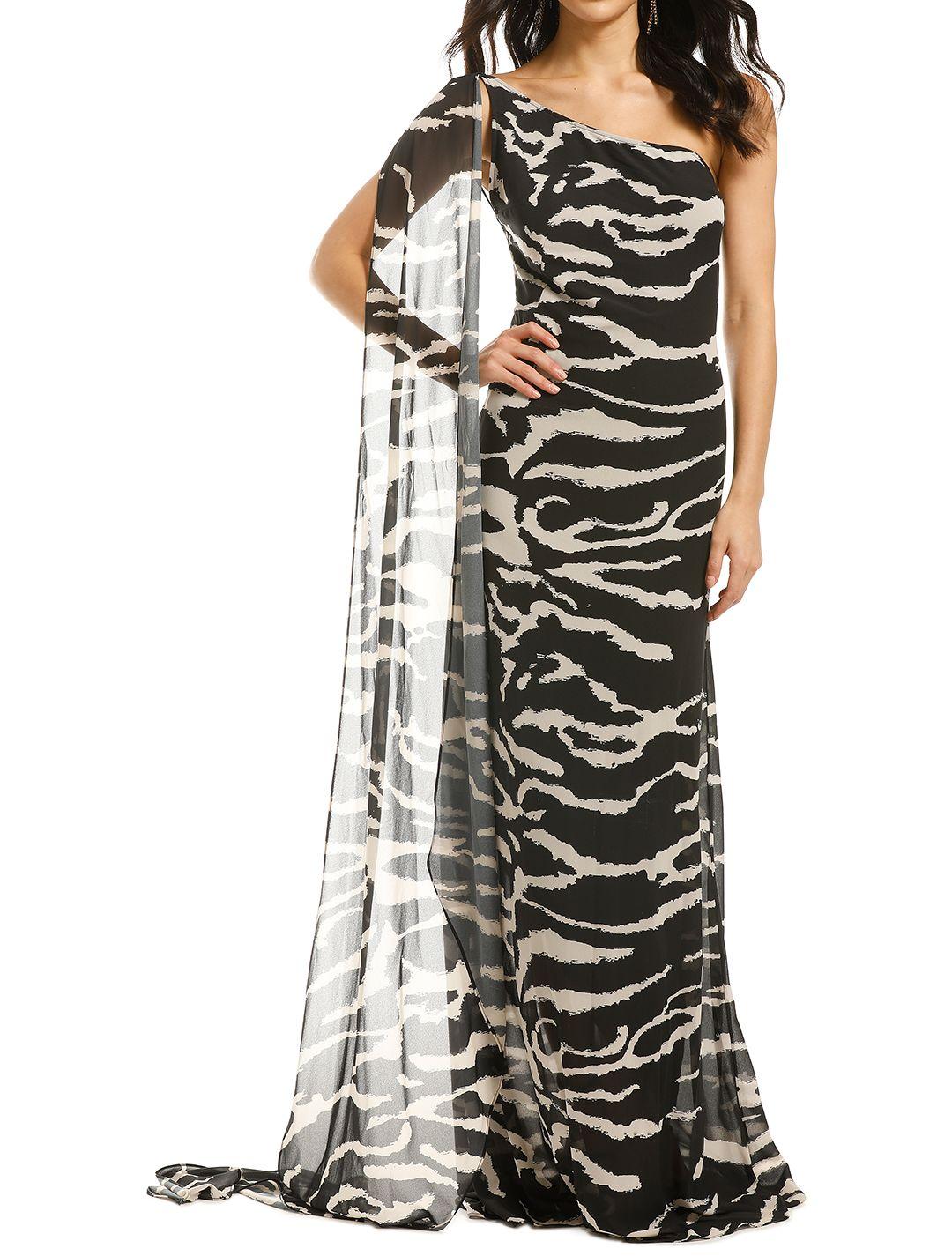 Lexi-Zola-Dress-Black-Ivory-Front