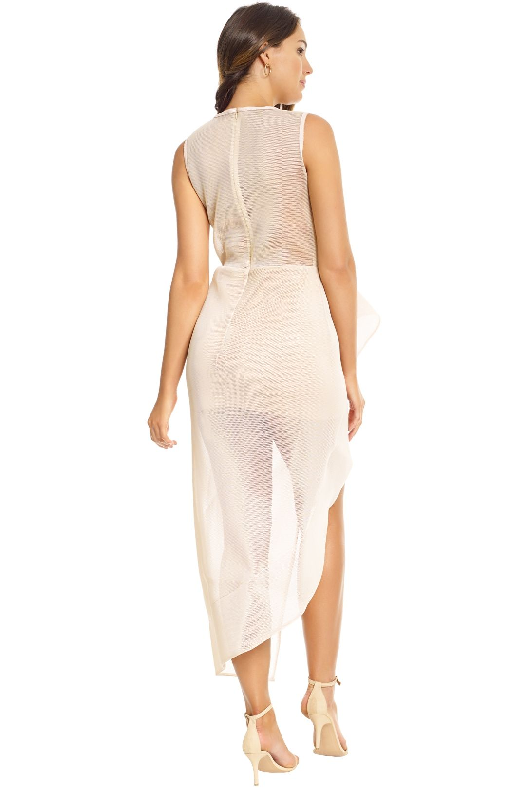 Lexi - Prana Dress - Champagne - Back