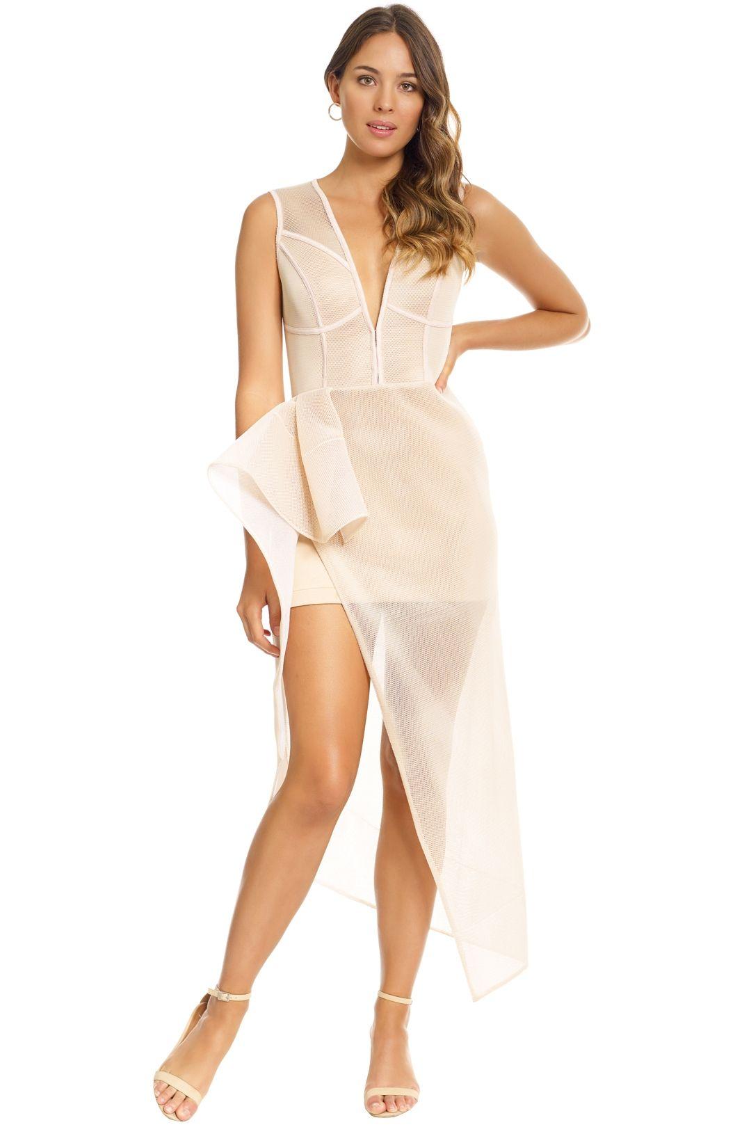 Lexi - Prana Dress - Champagne - Front