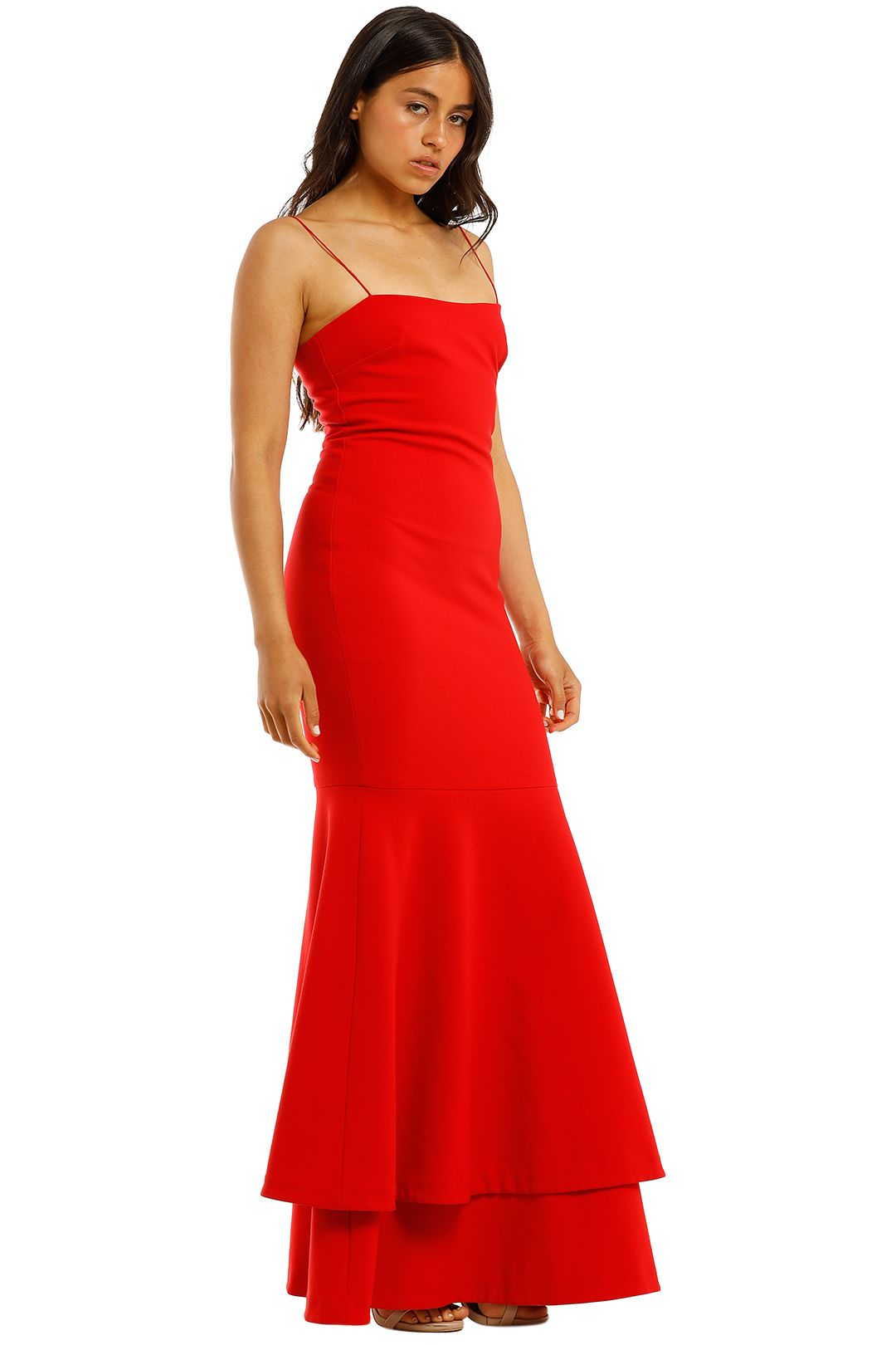 Likely-NYC-Aurora-Gown-Scarlet-Side