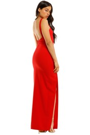 Likely-NYC-Bethany-Gown-Red-Back