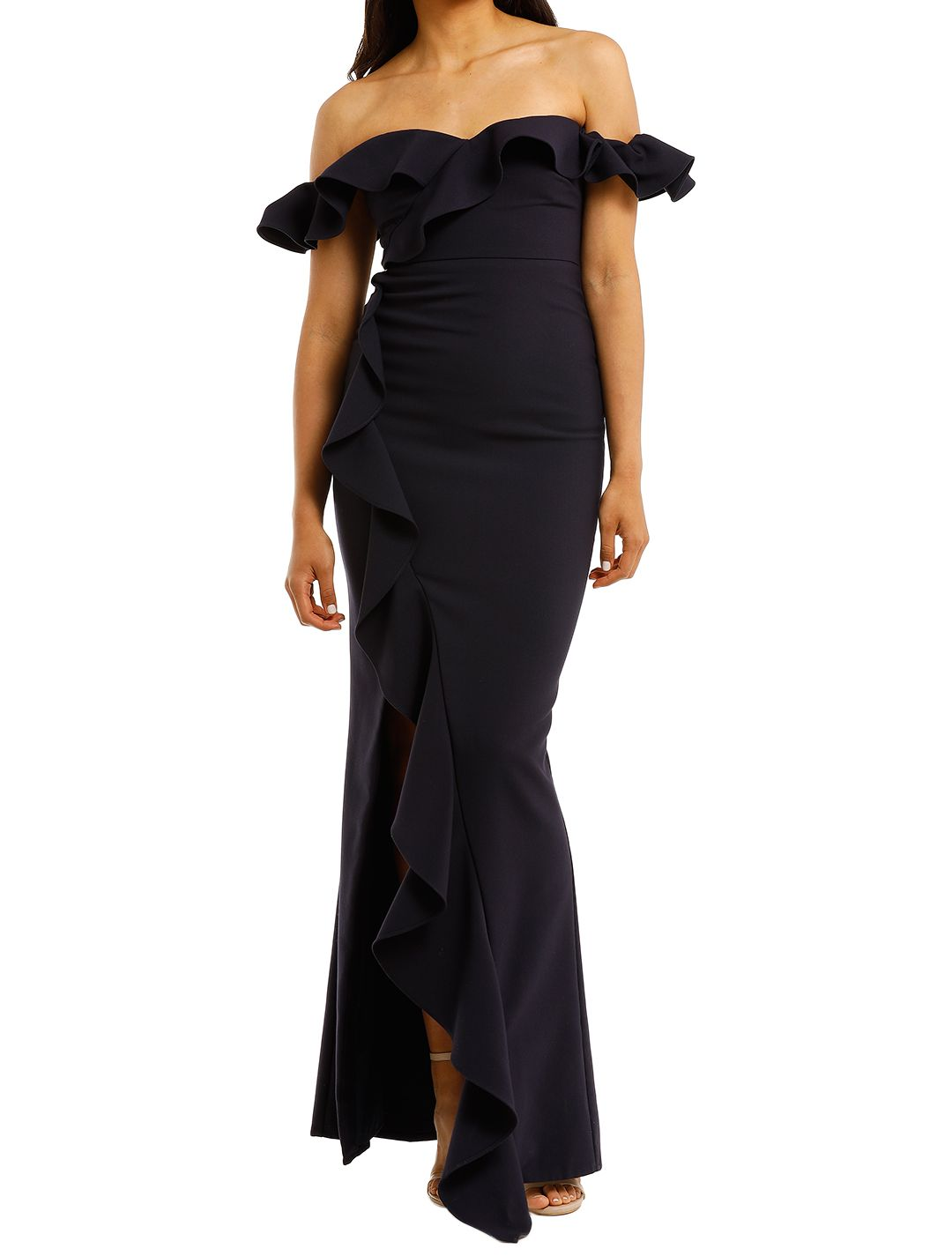 Likely-NYC-Miller-Gown-Navy-Front