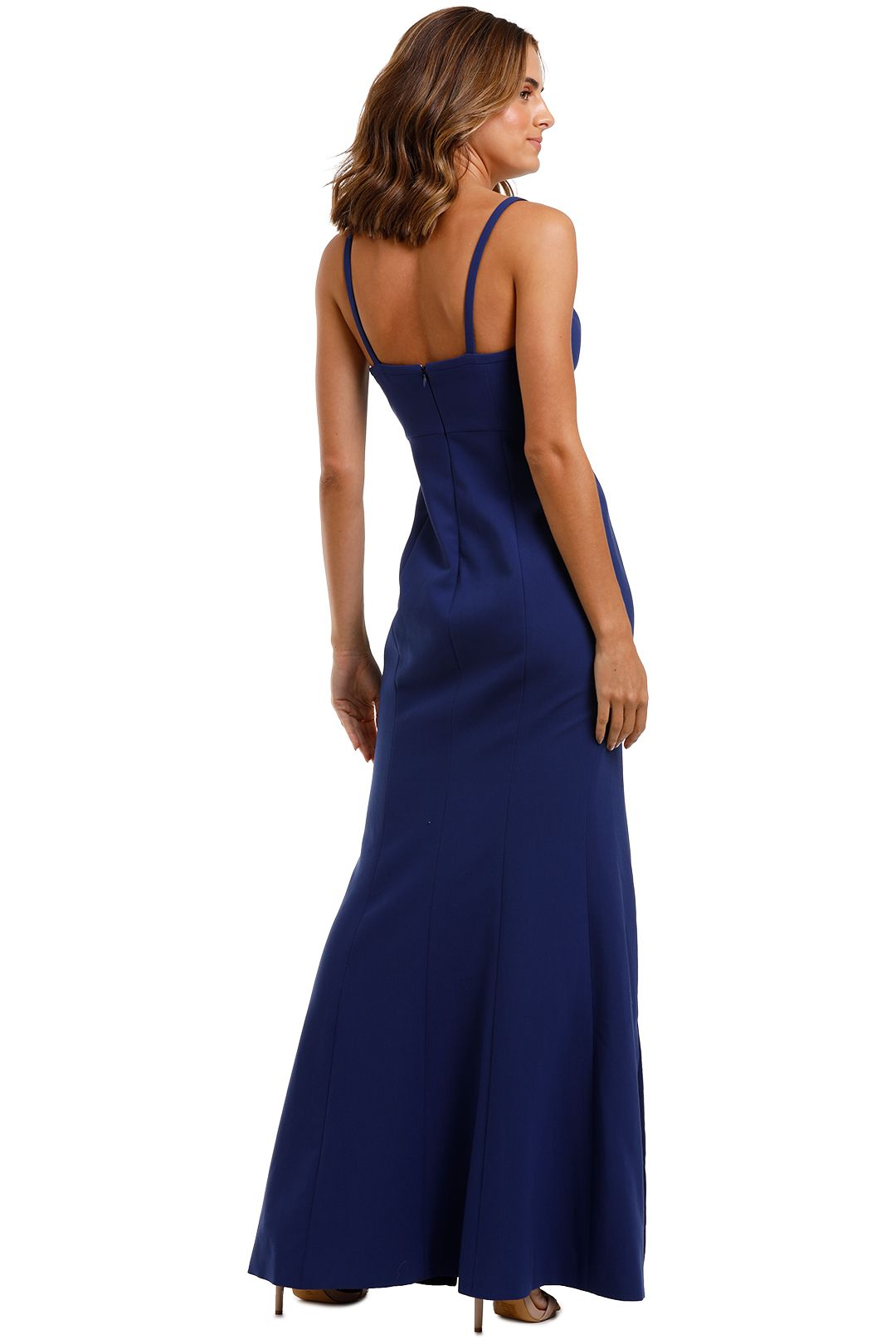 Likely NYC Alameda Gown Blueprint Front Split