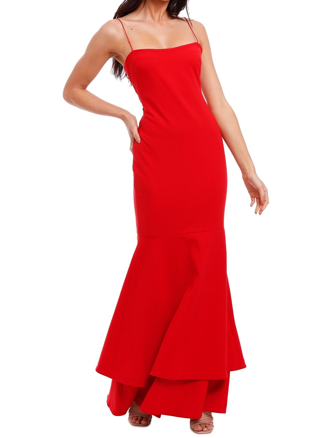 Likely NYC Aurora Gown Scarlet