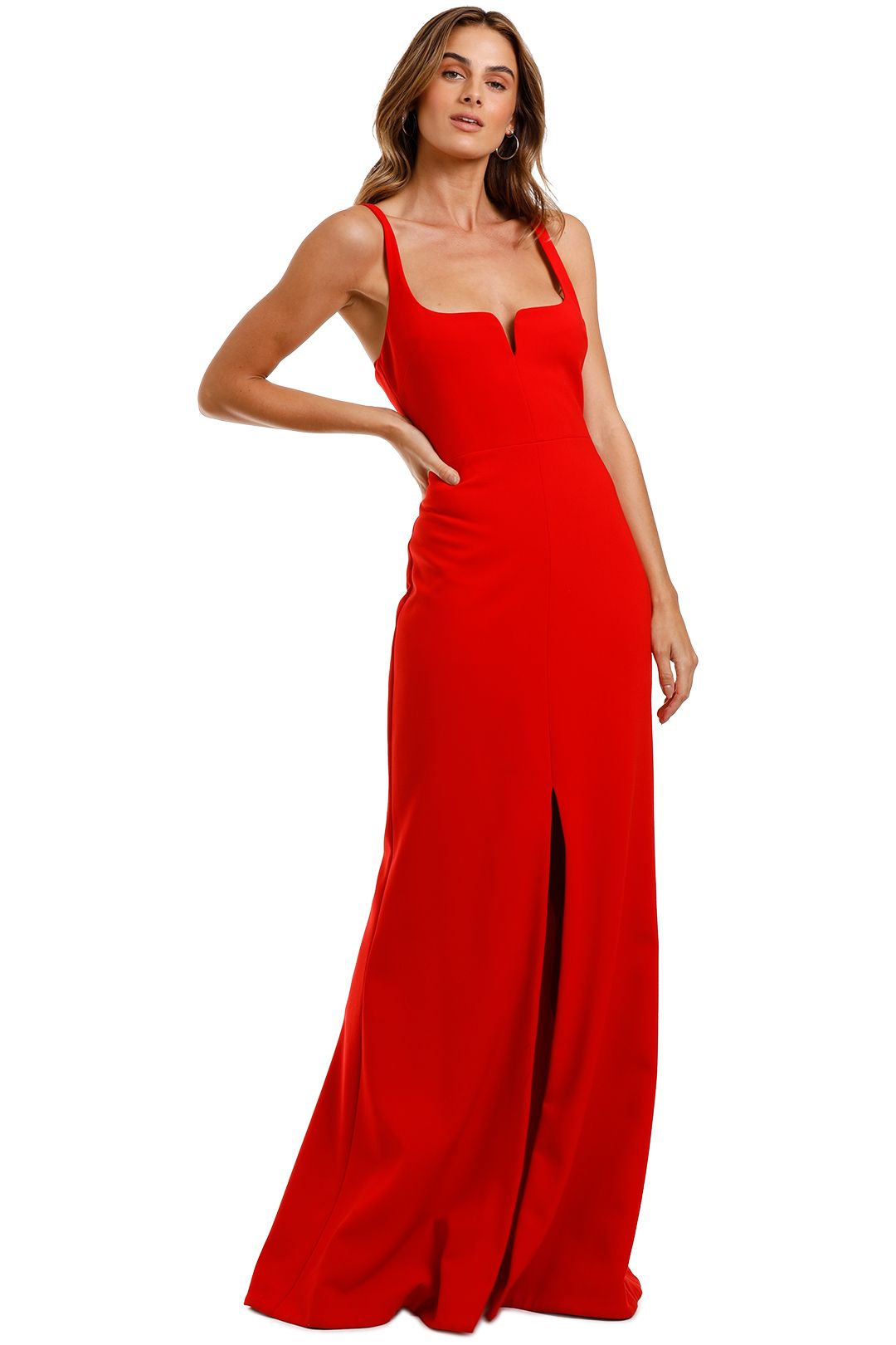 Likely NYC Constance Gown Scarlet