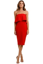 Likely NYC Driggs Dress Red