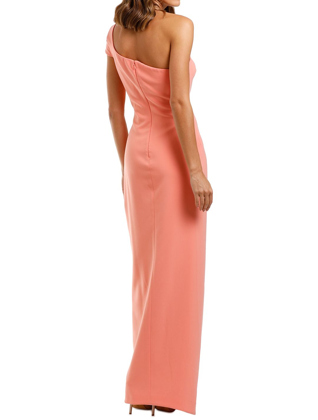 Likely NYC Maxson Gown Apricot Bodycon