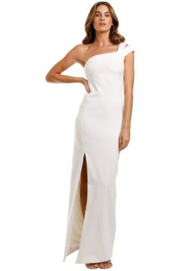 Likely NYC Maxson Gown White