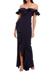 Likely NYC Miller Gown Navy