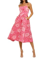 Love-Honor-Alexia-Midi-Pink-Floral-Front