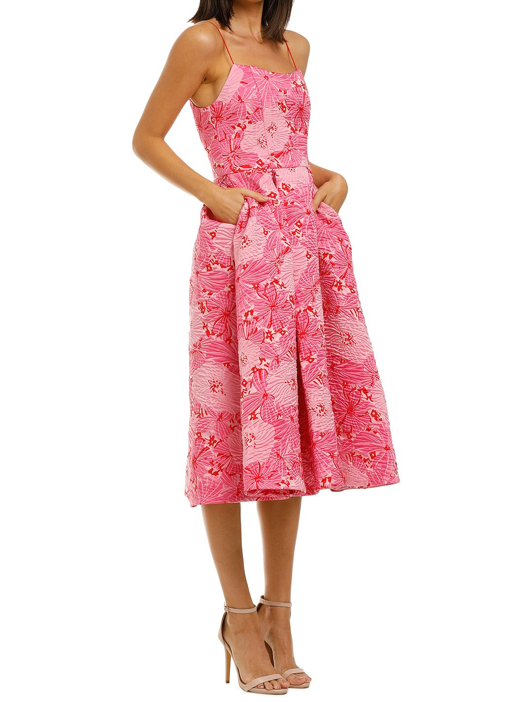 Love-Honor-Alexia-Midi-Pink-Floral-Side