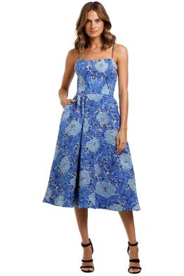 Love Honor Alexia Midi Cobalt