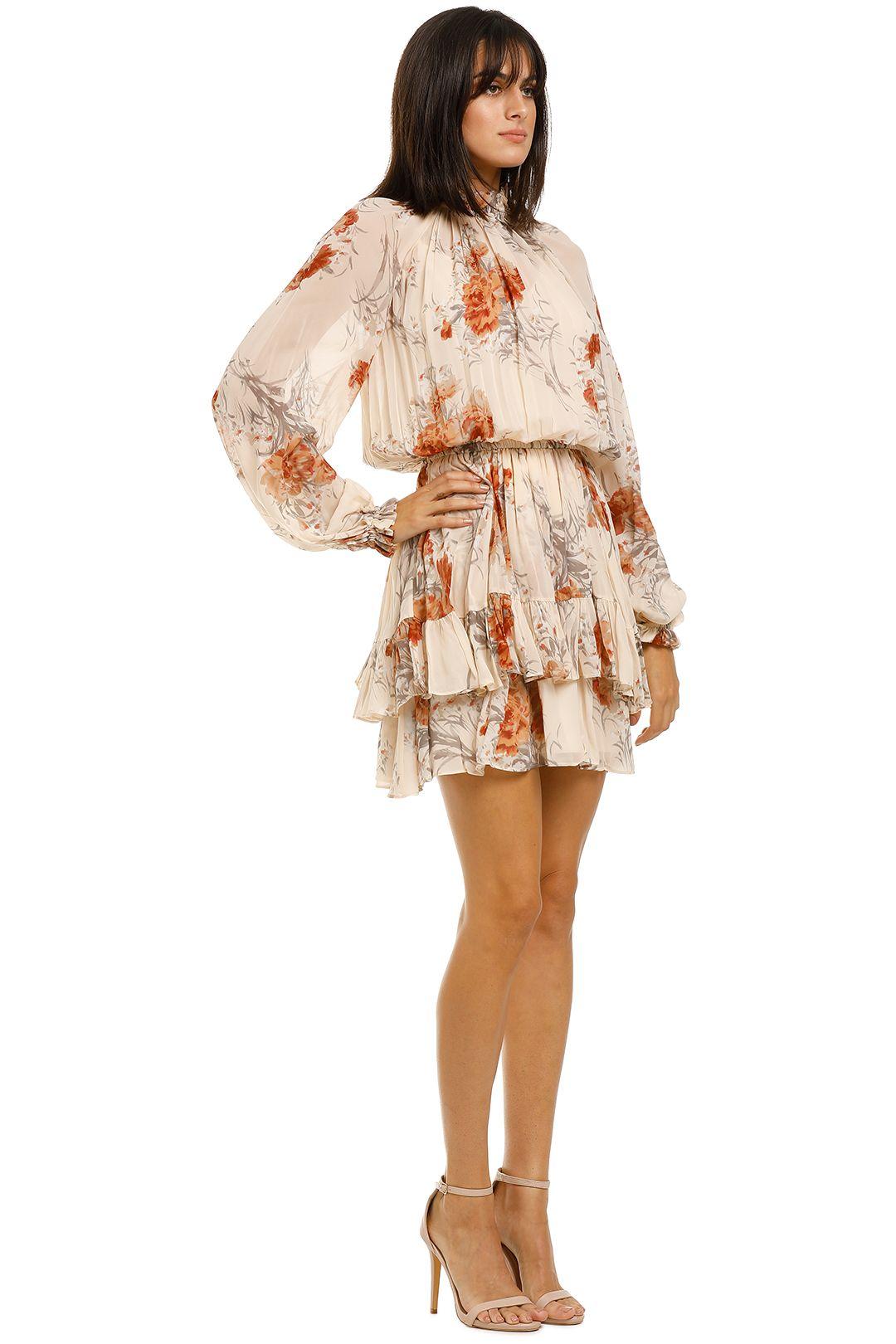Lover-Angie-Mini-Dress-Sand-Side