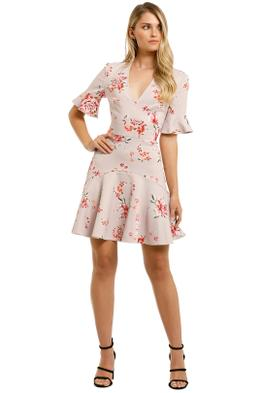 Lover-Blossom-V-Flip-Dress-Pink-Front
