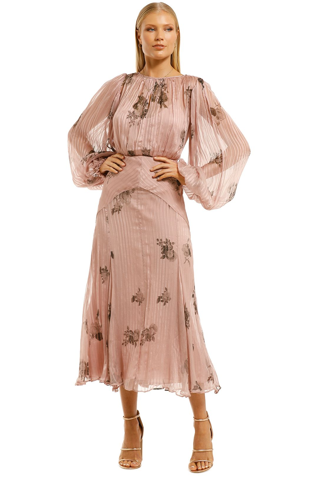 Lover-Daydream-Silk-Midi-Dress-Pale-Mauve-Front