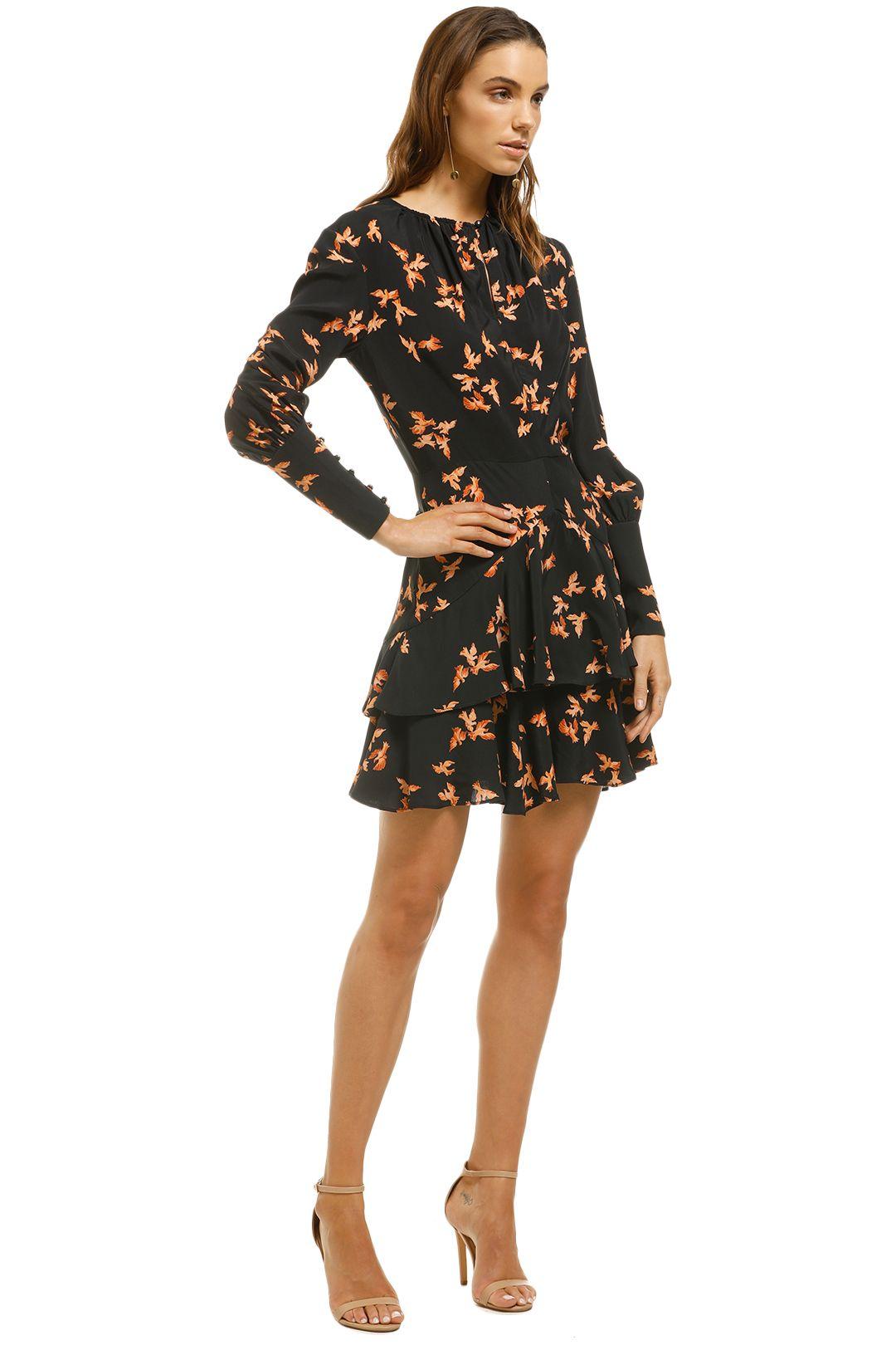 Lover-Dove-Mini-Dress-Black-Side