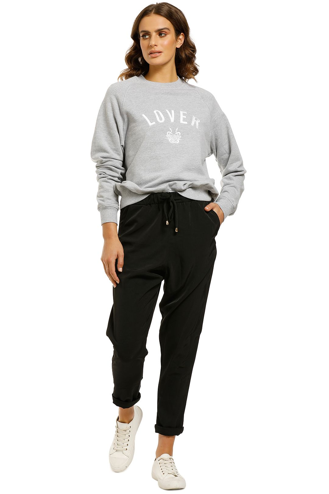 Lover-Embroidered-Sweat-Grey-Front