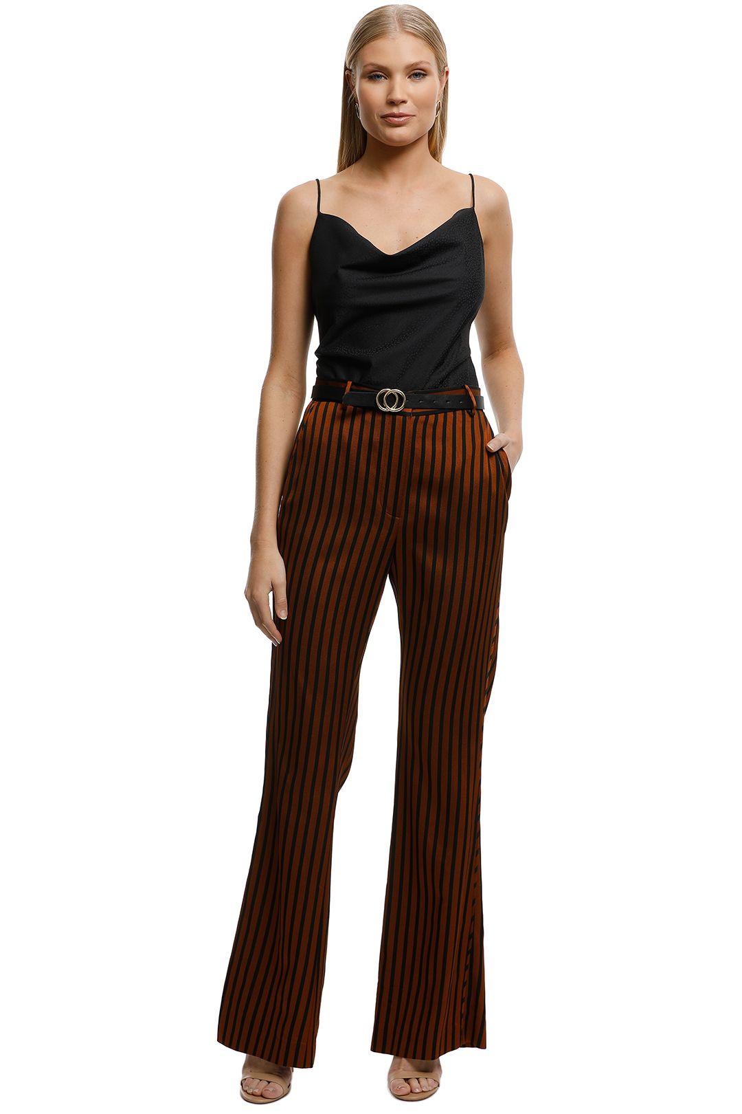 Lover-Liberation-Stripe-Pant-Chestnut-Stripe-Front