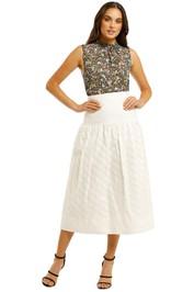 Lover-Lotus-Midi-Skirt-White-Front