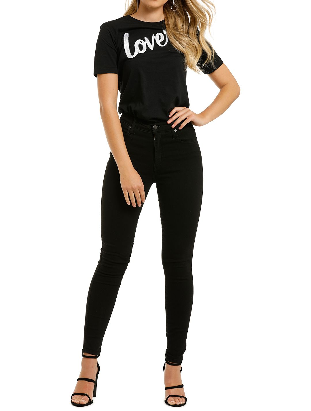 Lover-Signature-Tee-Black-Front