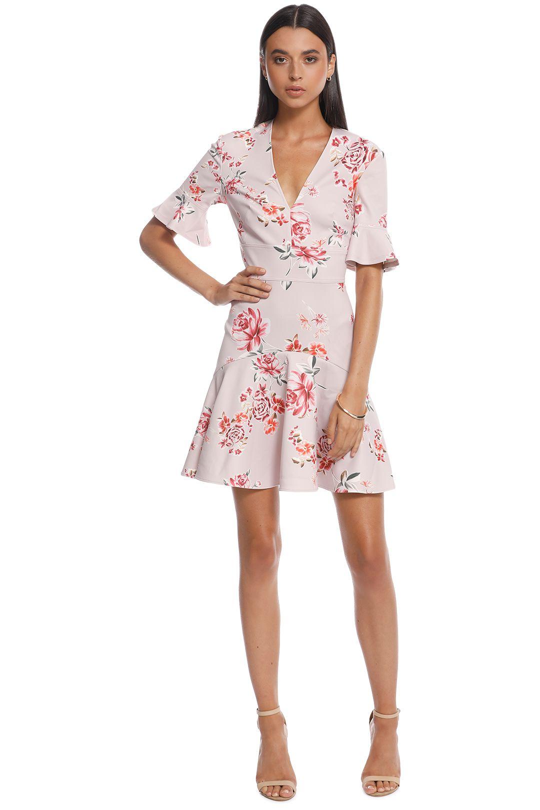 Lover - Blossom V Flip Dress - Pink - Front