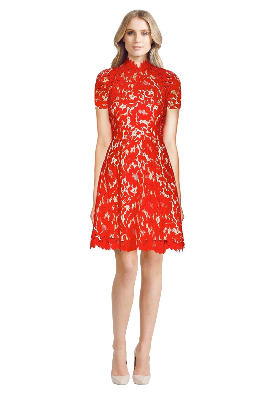 Lover - Mini Warrior Lace - Red - Front