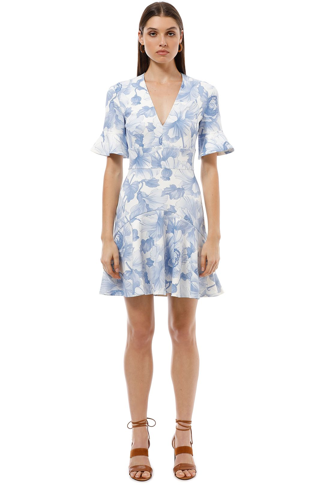 Lover the Label - Melody Lace Dress - Blue - Front