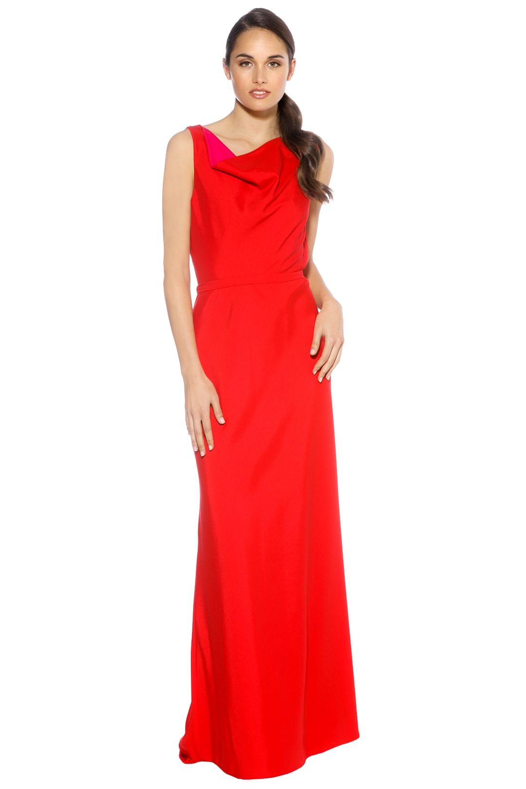 LUOM.O - Paloma Dress - Red - Front