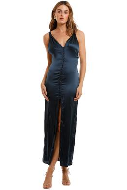 Magali Pascal Baron Long Slip Dress split