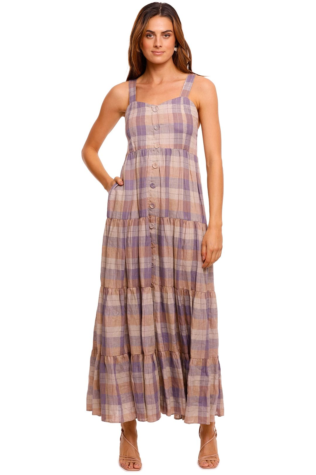 Magali Pascal Calypso Dress plaid