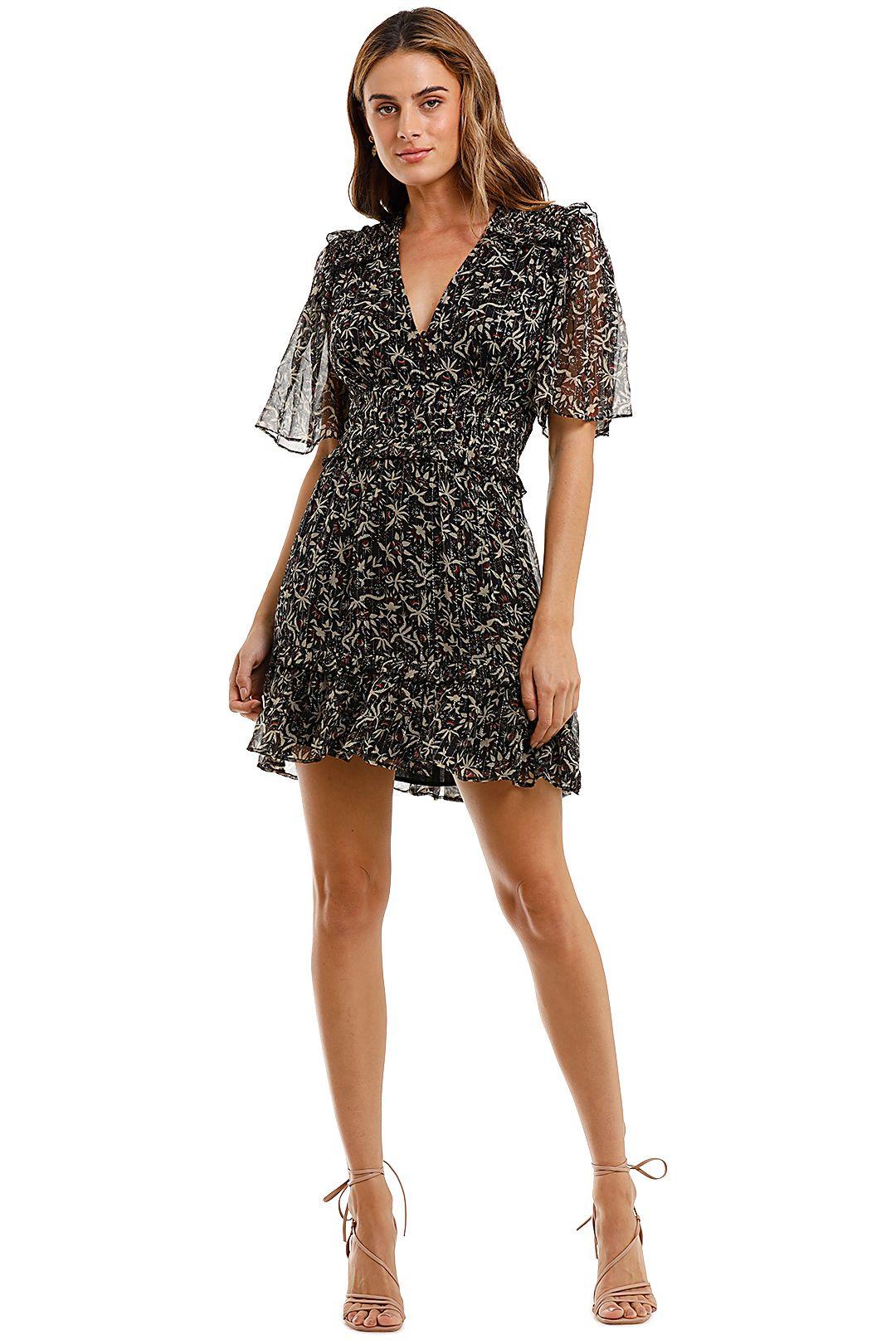 Magali Pascal Foly Mini Dress floral print