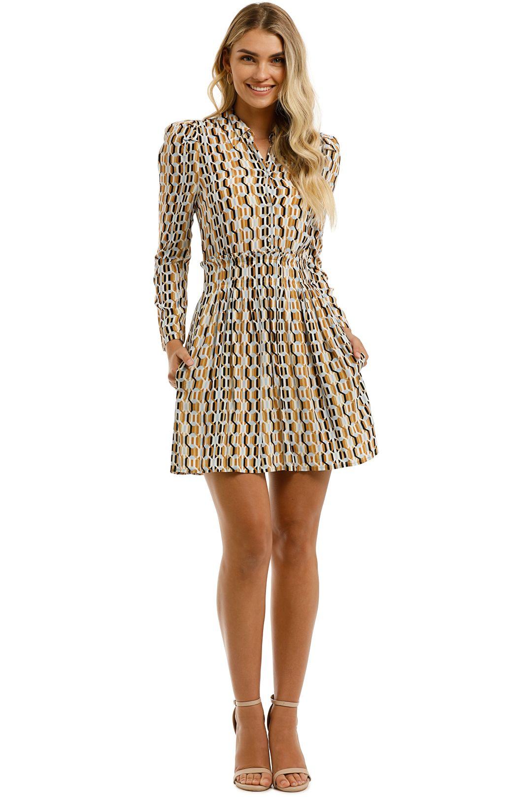 Maje-Rikole-Dress-Print-Front