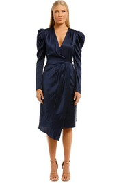 Manning-Cartell-Style-Code-Drape-Dress-Navy-Front