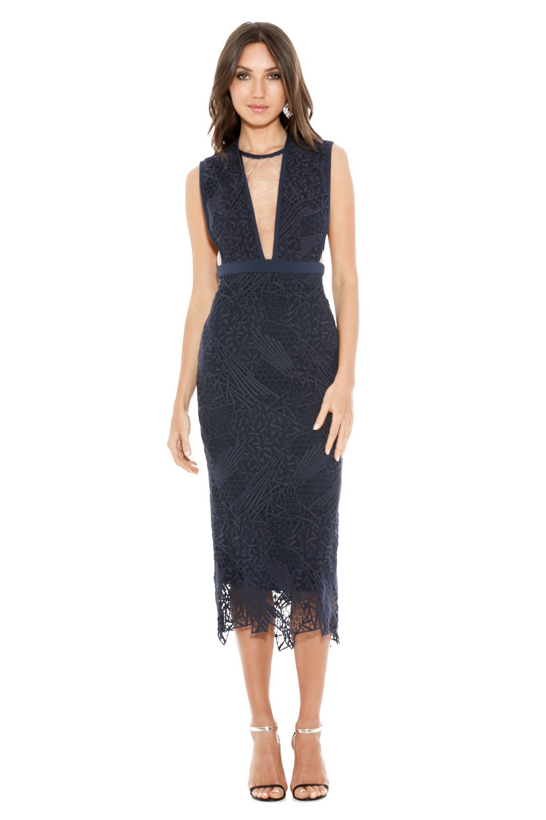 Manning Cartell - Ink Gallery Views Sheath Dress - Front