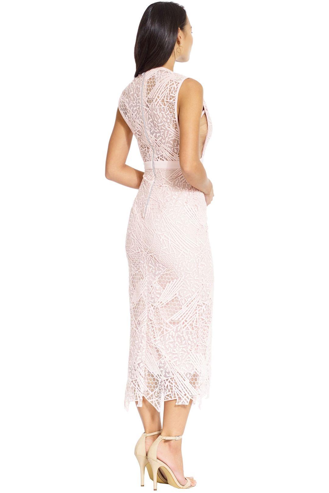 Manning Cartell - Gallery Views Sheath Dress - Blush - Back