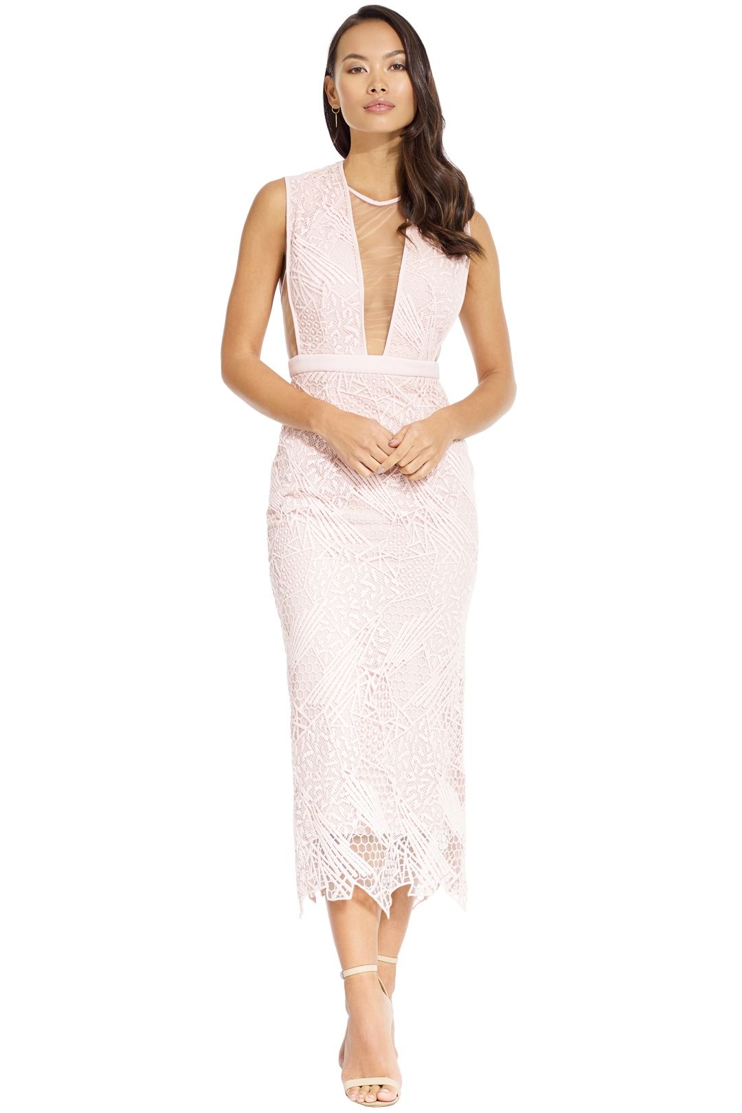Manning Cartell - Gallery Views Sheath Dress - Blush - Front