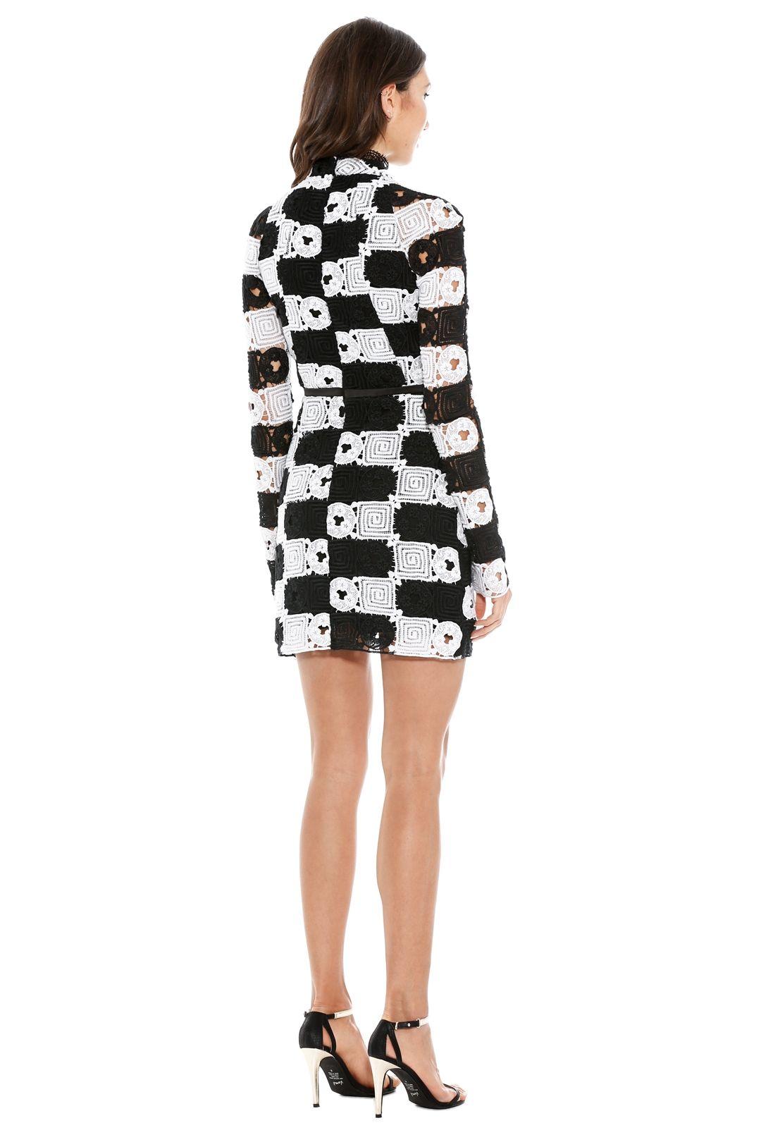 Manning Cartell - Split Personality Dress - Back White - Back