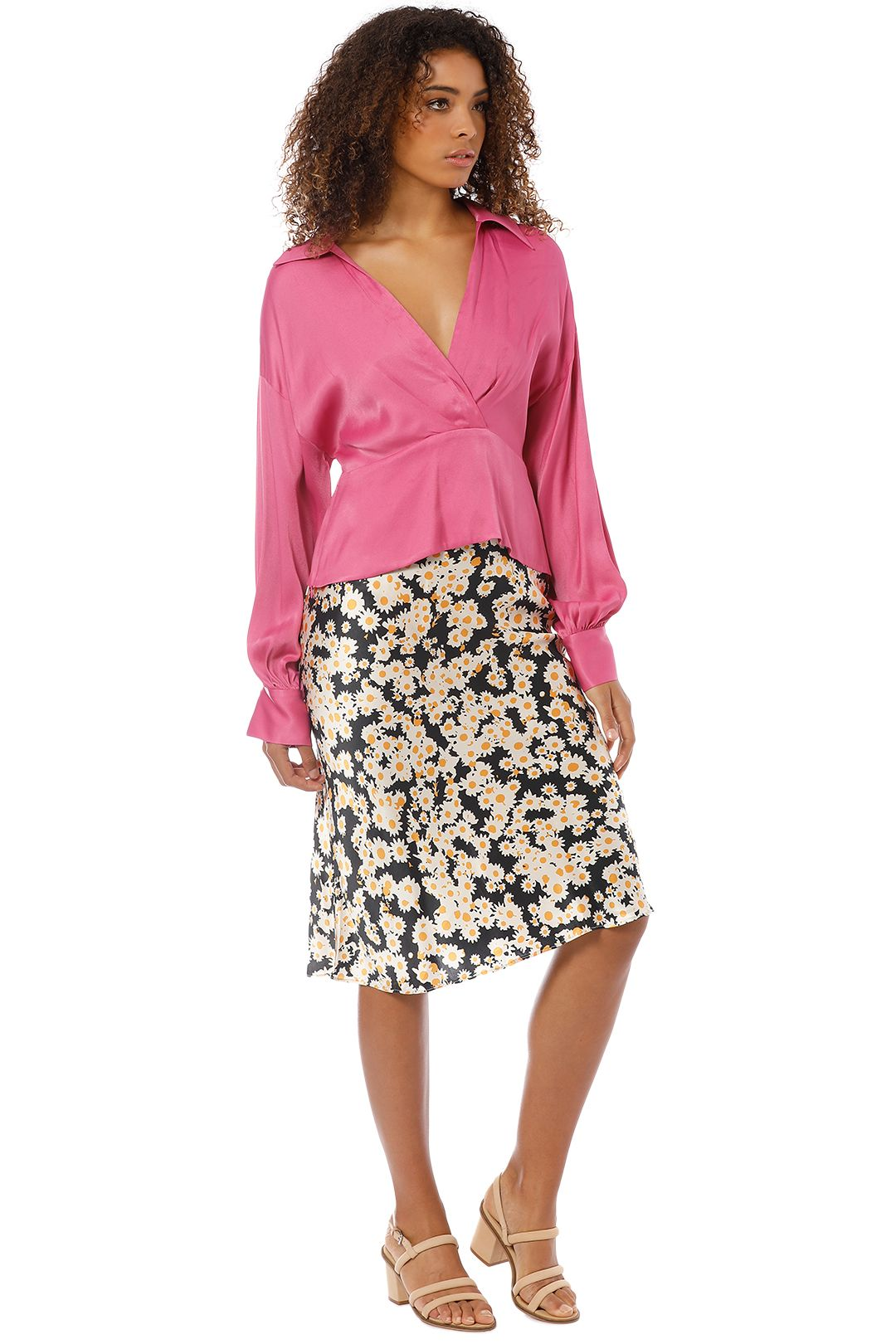 Manning Cartell - Status Update Blouse - Pink - Side