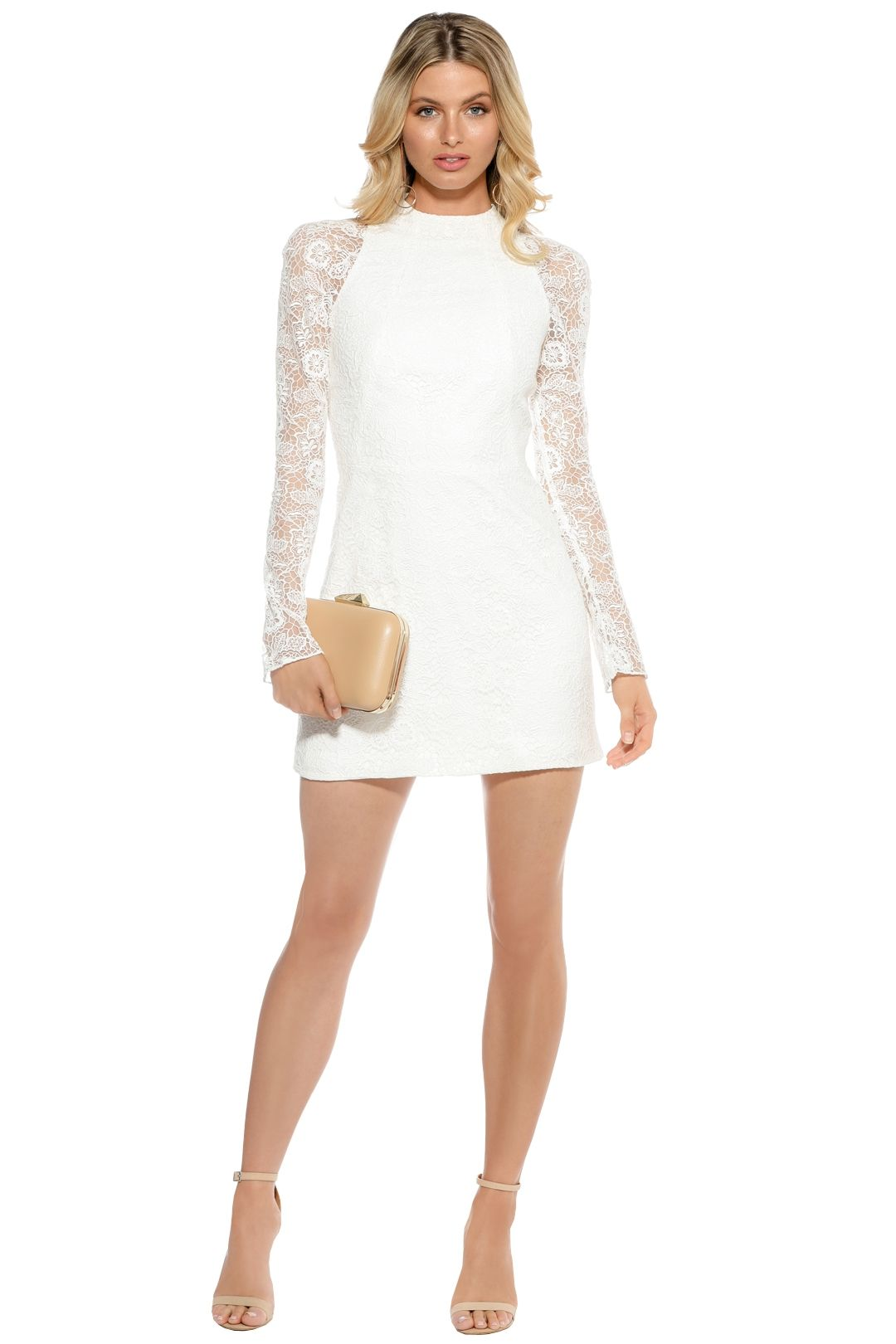 Manning Cartell - Tea Party Mini Dress - White - Front