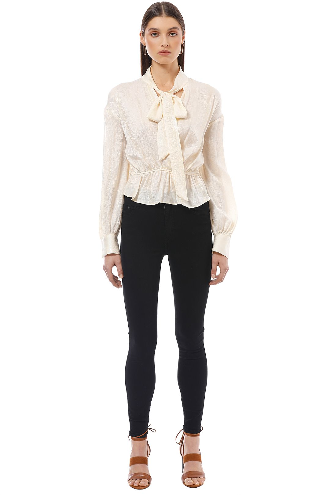 Manning Cartell - Up Scale Blouse - Cream - Front