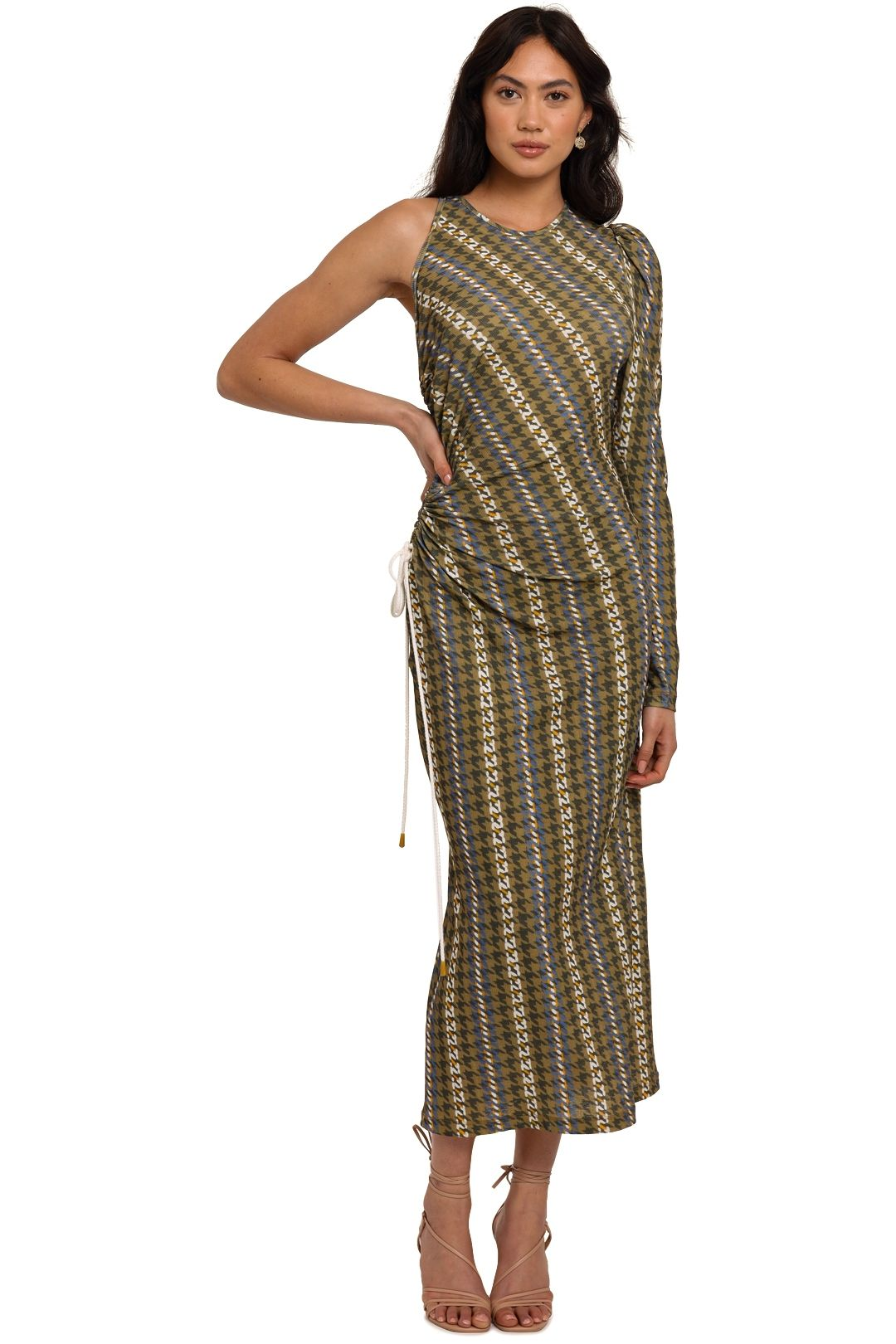 Manning Cartell Sporty Houndstooth Dress