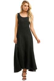 Marle-Romy-Dress-Black-Front