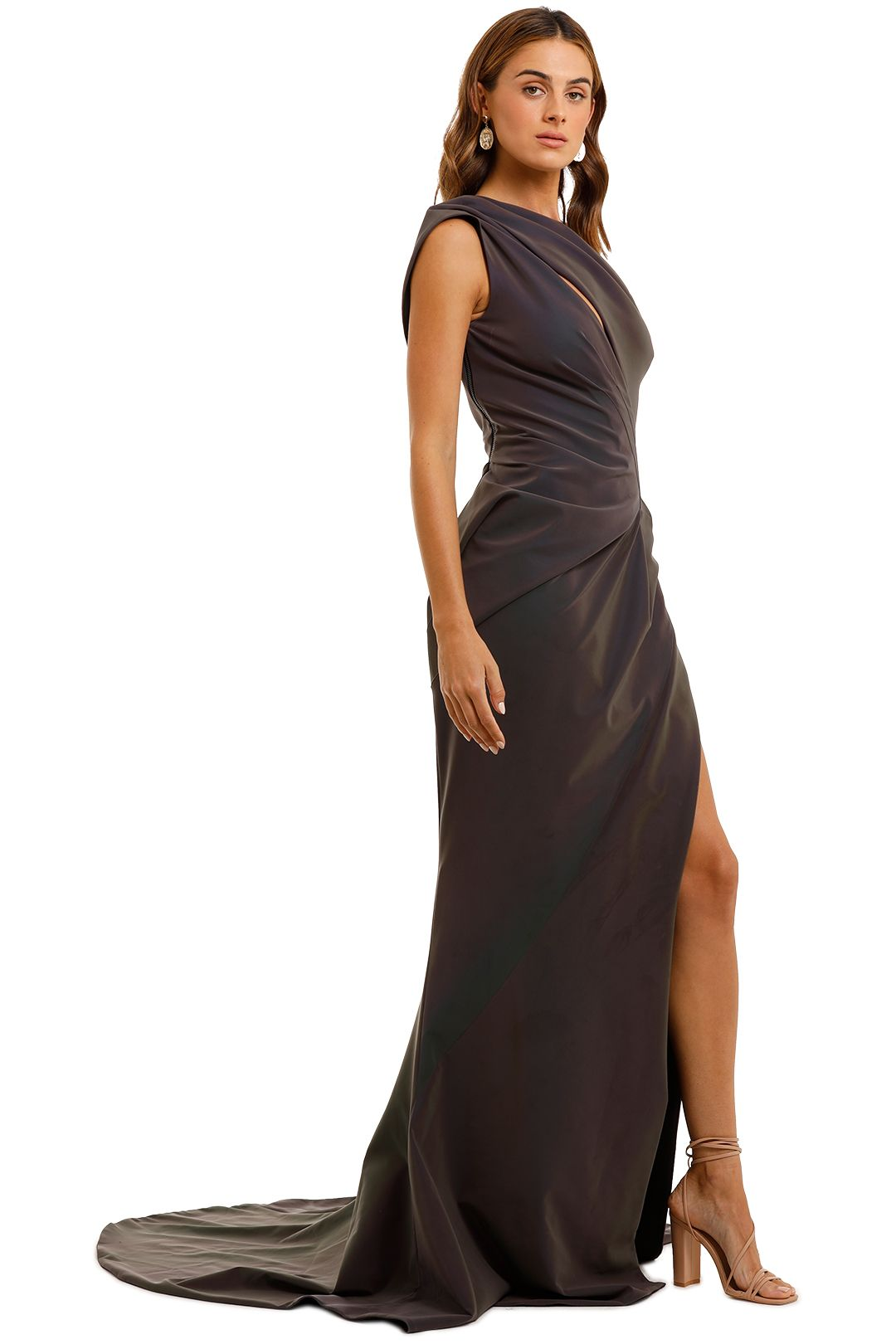 Maticevski Boundless Gown multi cut out