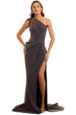 Maticevski Boundless Gown one shoulder
